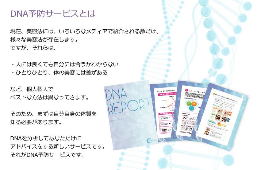DNA予防サービスとは